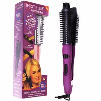 Catok 2 in 1 - In Styler - Ionic Styler Pro Cool Touch - Hot Brush