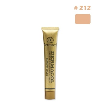 Details about Dermacol Waterproof High Covering Conceal Make up Foundation Fil - intl