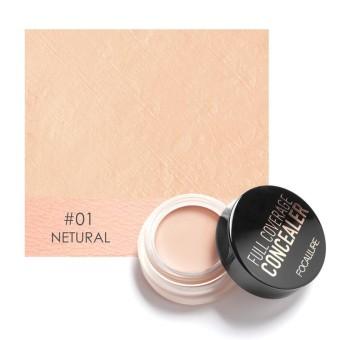 Focallure Face Palette Bronze Corrector Contour Concealer Base Makeup Face Cream Foundation #1 - intl