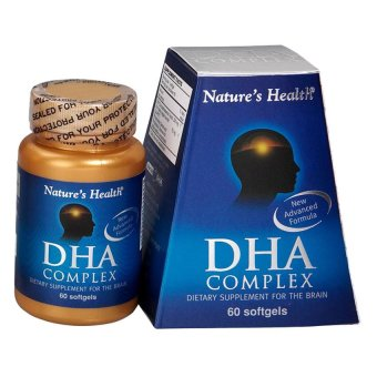 Nature's Health DHA Complex - 500 mg - 60 Softgel