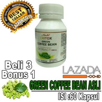 OBAT PELANGSING BADAN GREEN COFFEE BEAN HERBAL