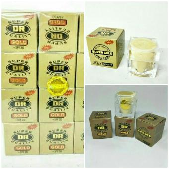 [Paket 2 Pcs] Cream Wajah DR GOLD Super Quality Original +SPF30