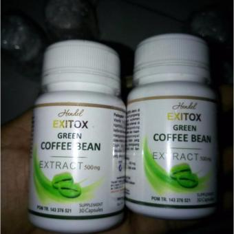 Pelangsing Herbal Exitox Green Coffee Bean Extract 500mg
