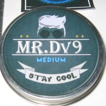 Pomade Mr Dv9 Oil Based Medium Bubble Gum (Free sisir + Stiker )