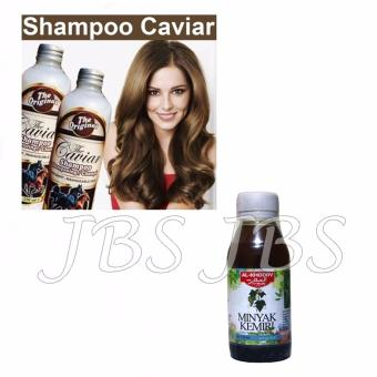 Shampo Caviar - Shampo Kuda Sudah BPOM - 250 ml - Minyak Kemiri Al Khodry -