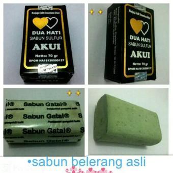 Sulfur Original Soap Herbal Sabun Belerang Asli Obat Penyakit Kulit Obat Gatal