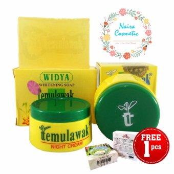 Temulawak Cream Asli - Paket Temulawak Original Free Sabun Beras Thailand