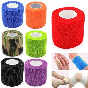 Elastic Adhesive Sports Wrist Support Care Medical Tape Finger Muscle Care Wrap - intl