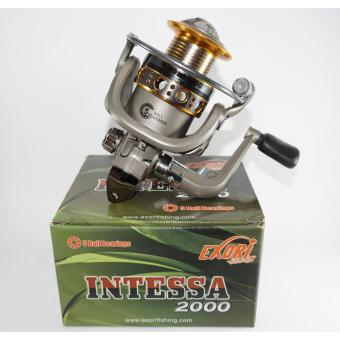 Reel Exori Intessa 2000 5 BB Ratio 5.1 Aluminium Spool