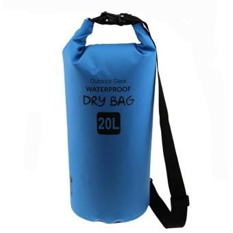 robxug Waterproof Sport Dry Bag Belt Shoulder Strap -10L (Blue) - intl