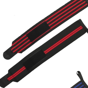 Sold in Pair High Elastic Durable Adjustable Wrist Wraps Bands with Thumb Loops Wrist Support Braces