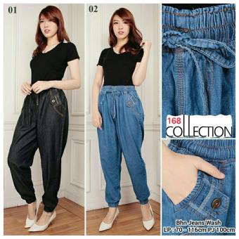 168 Collection Celana Kulot Faszha Jeans Pant Biru Daftar Update Source · Jual 168 Collection Celana Jumbo Hotpant Zipny Jeans Pant Biru
