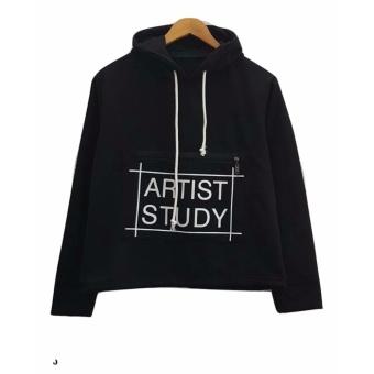 Cek Harga Baru 3kfashion Croope Bomber Fleece Hijau Army Terkini Source · 3K Artist Study Sweater Fleece Hitam