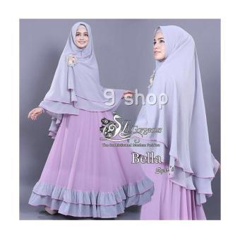 Kehebatan 9 Shop Baju Gamis Syari Dress Maxi Muslim Wanita Bunga No
