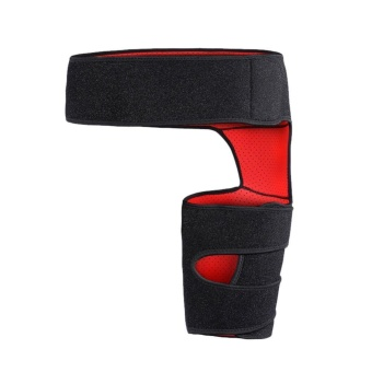Adjustable Strained Groin Brace Wrap Hip Joint Support Waist Pulled Groin - intl