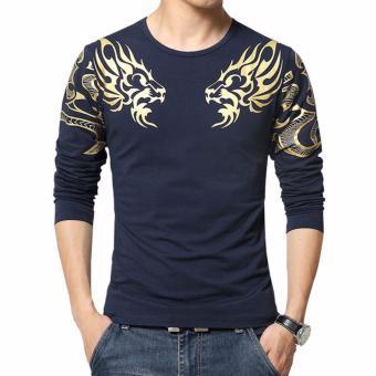 High5 Fashion Pria Kaos Lengan Pendek Varsity Dndv 30 Second To Mars Source · Amart Fashion Kaos Pria Dragon Lengan Panjang Motif Biru Laut