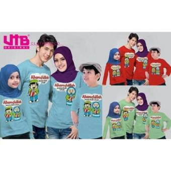 Baju Couple Keluarga Family Kaos Tees Anak Ayah Bunda VT-018