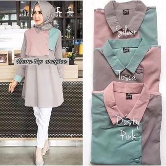Blouse Atasan Muslim Fashion Wanita - Daftar Harga Terlengkap Indonesia 11418295dd