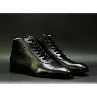 CVNY Sepatu Pantofel Boots Formal Kulit Pria - Kickers Brodo Boot Formal  Crocodile b408e9162d