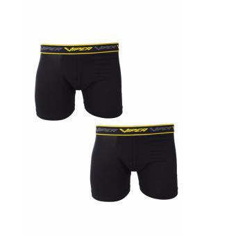 Elfs Shop - Boxer Briefs Fit Viper Celana Dalam Pria Men's Underwear 2Pcs-Kuning Tua