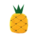 Fashion Cute Key Zero Wallet Purse Coin Bag Cartoon Fruit Handbag Pineapple - intl