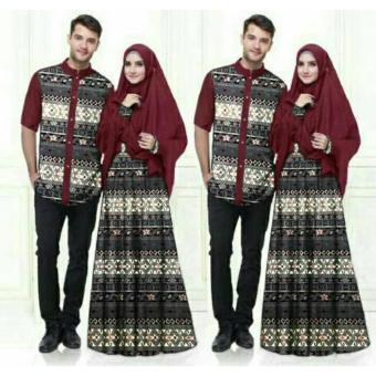 Kehebatan Fashion Flower Baju Pasangan Baju Couple Busana Muslim