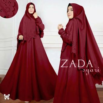 Gamis - Pakaian Wanita Muslimah - Baju Muslim   Jumpsuit - Fashionable - SS  Gamis Syar ae079603e7