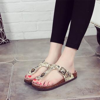 Guoluofei Shishang jepit sandal dan sandal beberapa sandal sandal sandal (102 kamuflase sandal jepit)