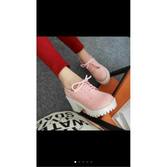 heels tali polos pink baby