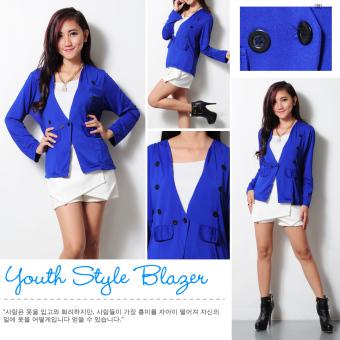 Harga Ayako Fashion Blazer Oval YT Hitam PriceNia com Source Ayako Fashion Blazer .