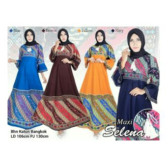 ... 168 Collection Maxi Dress Angel Gamis Navy Cek Harga Source Harga Terbaru SB Collection Maxi Dress