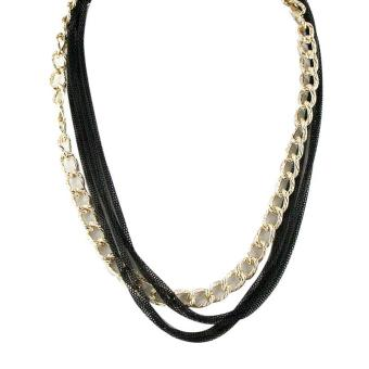 Ofashion Aksesoris Kalung XX-CA-1702K020 Modern Necklace Accessories Panjang 54 Cm