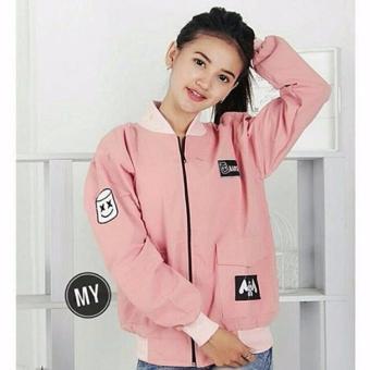 Kehebatan 3k Fashion Marshmello Bomber Jacket Baby Kanvas Dan Harga ... 619736822c