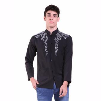 Cek Harga Baru Jfashion Baju Koko Pria Tangan Panjang Bordir Yusuf ... 8ab3a6416d