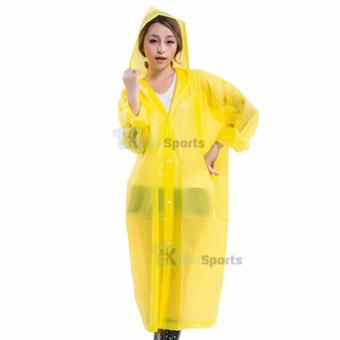 Kokasport Jas Hujan EVA lightweight Raincoat Model Ponco - Kuning