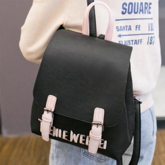 Model baru Tas Ransel perempuan Gaya Korea Gaya Kampus Sederhana dan Elegan  tas ransel wanita casual c11fed5214