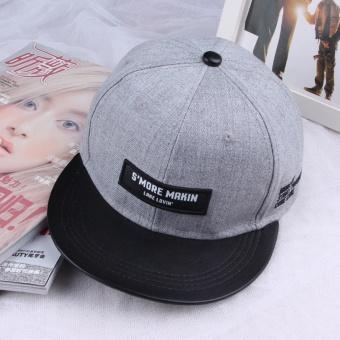 Beberapa Korea Fashion Style Laki Laki Pita Panjang Topi Topi Besi ... 5a729eb59a