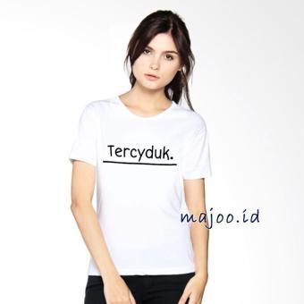 ID T-Shirt Cewek / Tumblr Tee / Kaos Wanita Tercyduk - Putih