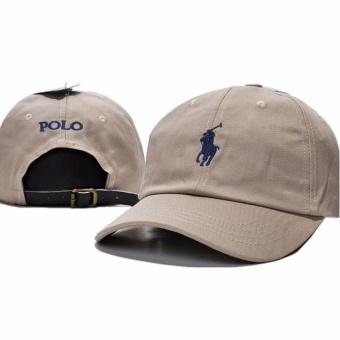 Men's fashion POLO Baseball cap Snapback hat Adjustable Sport Hat - intl