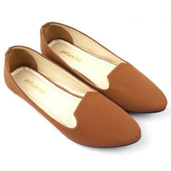 Sandal Flat Wanita Twisted Bow Bp01 Tan - Daftar Harga Termurah ... e9140c5bd3