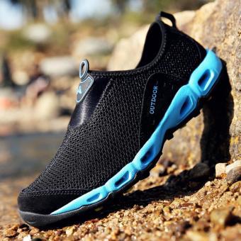 Pria Olahraga Sepatu Cepat Sepatu Hiking Kering Gunung Pendakian Sepatu  Pantai Sepatu Pria Outdoor Olahraga Sepatu b731560950