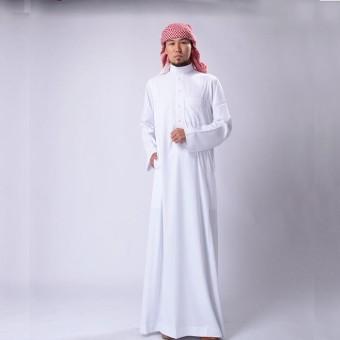 Kehebatan Gamis Jubah Pria Al Haramain Asli Saudi Warna Hitam Gratis