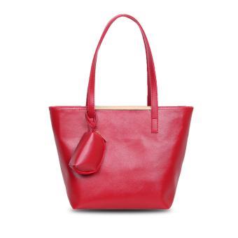 Vicria Tas Branded Wanita - High Quality Korean Elegant Bag Style WITH WALLET 4in1 - Hitam. Source · Quincy Label - Jones Women Tote Bag - Red