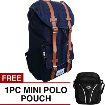 ... Laptop Backpack with Raincover Up To 14 Inch + FREE Mini PoloClub Pouch Selempang. Source · Respect Mountain Backpack + FREE Mini Pouch Selempang