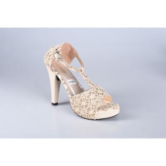 RSM Sepatu Heels Wanita S137- Cream