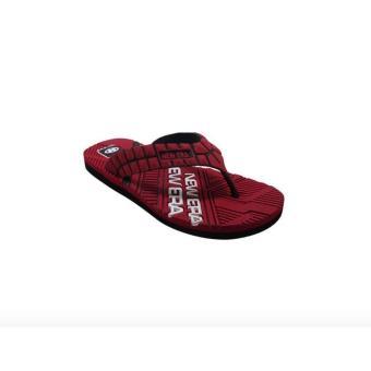 Sandal Jepit Pria NEW ERA Subaru Merah