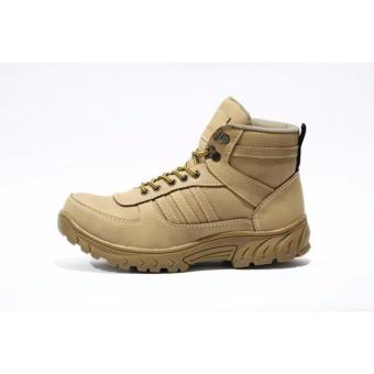 Sepatu Boots Pria Safety Grande California Safety Tracking Hiking And Touring Cream .