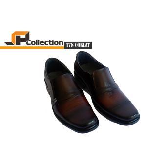 SPATOO Sepatu Pria Formal Kulit Asli 178 - Cokelat   Sepatu Pria Murah   Sepatu  Pria 9ef1566fab