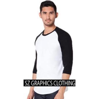 Sz Graphics/Raglan Shirt/T Shirt Pria/Kaos Pria/T Shirt Raglan