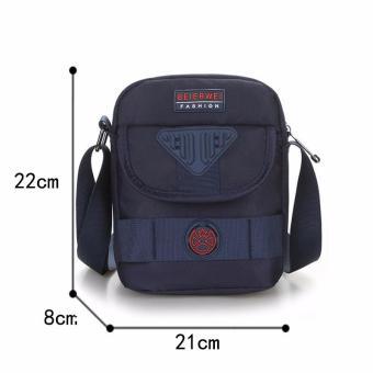 Tas Pria tas bahu Korea baru Messenger Nylon tahan air pria Oxford membawa  tas 5a61b6b045